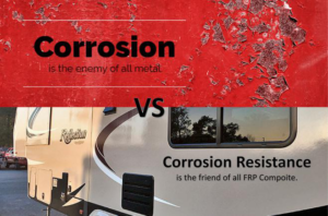 FRP Feature-Corrosion Resistance
